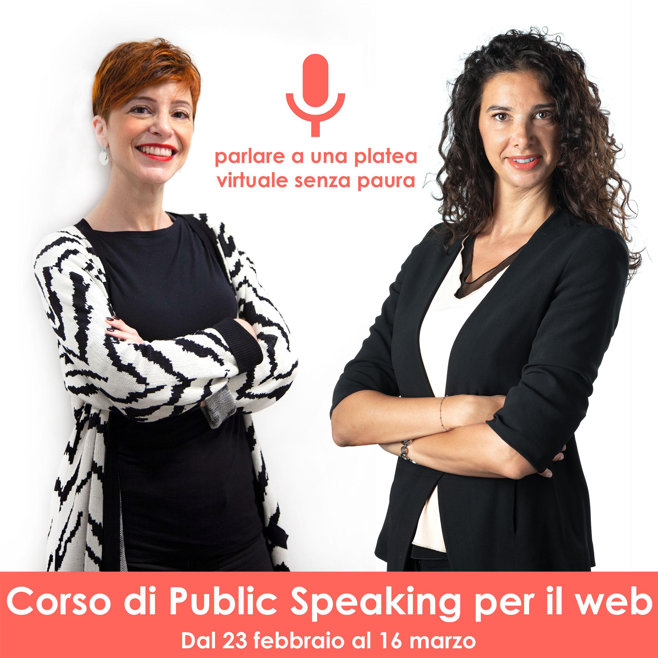 Corso di Public Speaking per il web